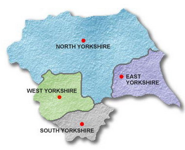 We cover the whole of Yorkshire